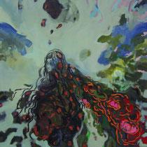 Le sacre, oil, 150x150cm, 2010 ,jpg