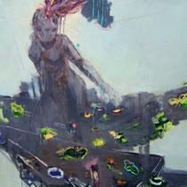 Golemina,Oil, 150x115cm, 2012