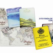 Funda publicidad AGENCIAS VIAJES, identificadores.