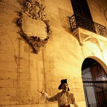 Tomás Vallés guia turístico, es el Capità Flexes. Fotos by  Magenta, Mallorca