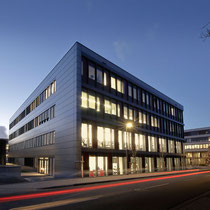 Uni Paderborn, Dämmerungsaufnahme