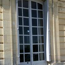 Porte-fenêtre restaurée