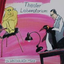 Theater Laboratorium Oldenburg/ Affe#Pinguin#Bühne#Collage