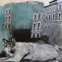 Die Wölfe kehren zurück/ Kulturfolger#Wölfe in der Stadt#Collage
