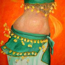 2009 - Ritmi di vita - olio su tela - 50x70 cm - collezione privata