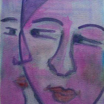 2011 - Il dubbio - acquerello su carta 300 - 57x38 cm
