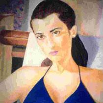 1994 - Alessandra - olio su tela - 50x60 cm - collezione privata