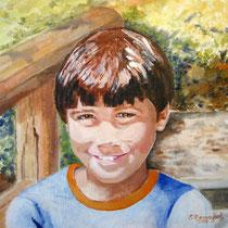 2007 - Luca - olio su tela - 50x40 cm - collezione privata