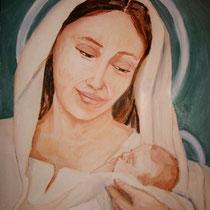 2009 - Maria - olio su tela - 40 x 50 cm