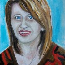 2013 - Santina - olio su tela 40x50 cm - collezione privata