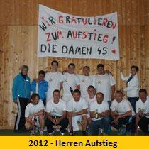 2012 - Herren Aufstieg
