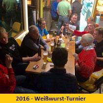 2016 - Weißwurst-Turnier