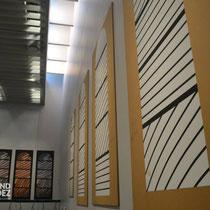 Musée Soulages : Croquis des vitraux de l'Abbatiale de Conques