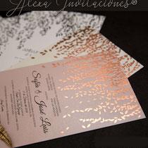 invitaciones impresas, invitaciones para boda, invitaciones para xv años, invitaciones para bautizos, invitaciones para cumpleaños, invitaciones para cualquier evento, invitaciones en Foil
