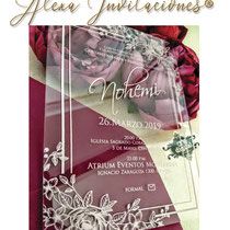 invitaciones en Acrílico, invitaciones para boda, invitaciones para xv años, invitaciones para bautizos, invitaciones para cumpleaños, invitaciones para cualquier evento