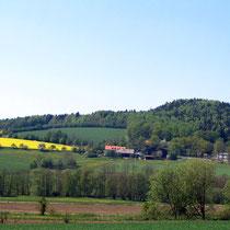 Hofansicht Erlebnisbauernhof Hanauerhof im Oberpfälzer Wald