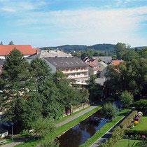 Kurpark in Schönsee