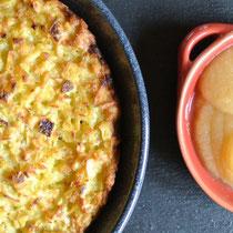 Kartoffelrösti oder Kartoffelpuffer aus dem Ofen (auch für Thermomix)