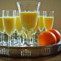 Orangen-Mousse mit Agar-Agar (auch für Thermomix)