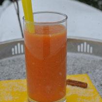 Orangen-Zimt-Smoothie auch für Thermomix