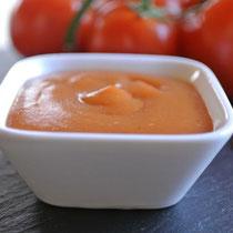 Grundrezept Ketchup aus frischen Tomaten - auch für Thermomix