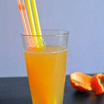 Infused Water mit Orange & Ingwer