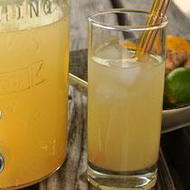 Haltbar: Limonaden-Sirup ohne Zucker