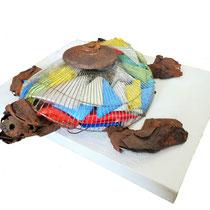 BORSETTA BORSETTA , 2015, assemblaggio, 22 X 60 X 63 cm