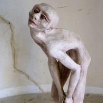 DIDI bianca - 2010 - Ceramica bitumata - cm.65 x 20 x 20