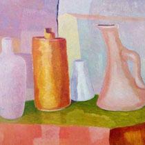 NATURA MORTA, 2015, olio su tavola, 45 x 35 cm