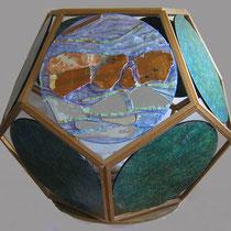 Dodecaedro, 2010, tecnica mista, 100x100 cm