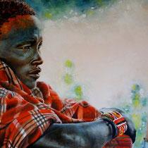Rinuncio (olio su tela)  50x70 - 2011