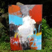 ENERGY, 2014, tecnica mista, 70 x100 cm