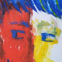 Maria Pia Cafagna, Senza titolo, 2012, olio su tela, 30 x 60 cm