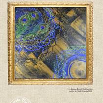 Collezione Deco 4 80x80 acrilico su tela  Art Natali Grunska 2014