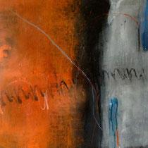 Natura senza confine, 2013, tecnica mista, 100 x 100 cm