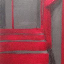 Ambasciatori, 2013, acrilico su tela, 100x40