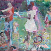 PARC BELLEVILLE 2008 - 2012 olio su tela 100x100