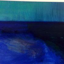 Mare e monti, 2011, tecnica mista, 70 x 100 cm