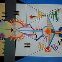 Dolce musica, 2014, 200 x 145 cm