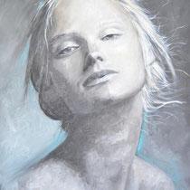 """""""Guardami..."""", 2014, olio su tela, 70x100 cm"""