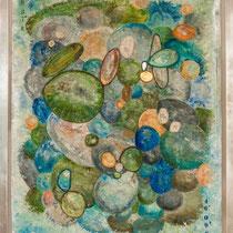 LA CASCATA, 130 x 105 cm