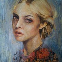 Senza titolo, 2015,olio su tela, 70x80 cm