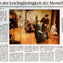 Burghauser Anzeiger vom 13.11.2001 - Der Mascara