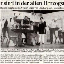 Burghauser Anzeiger vom 07.11.2000 - De Ritter san los