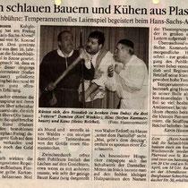 Burghauser Anzeiger vom 03.04.2000 - Hans Sachs Abend