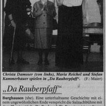 Burghauser Anzeiger vom 04.03.1998 - Da Rauberpfaff
