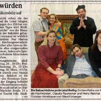 Burghauser Anzeiger vom 14.03.2008 - Hochwürden auf der Flucht