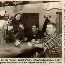Burghauser Anzeiger vom 01.03.1996 - Pizza a la Schrapfing