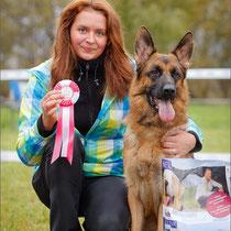 Юный Чемпион НКП, 4хЮКЧК, 9-кратная победительница Дарки фон Валмархоф